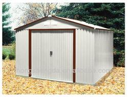 Portable steel frame outdoor storage sheds for sale
