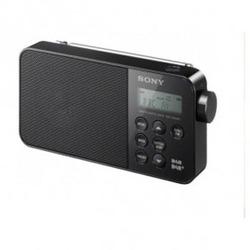 XS40DBPB BLACK Sony DAB/DAB+ FM Tuner Portable Radio