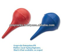 Rubber nasal aspiration