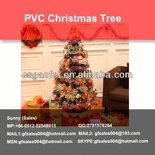 wall mounted christmas trees