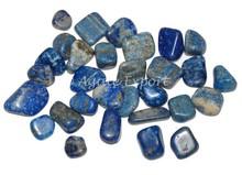 Lapis Lazuli Tumbled Stone: Rocks, Fossils & Minerals