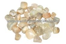 Moonstone Tumbled Stone: Rocks, Fossils & Minerals- Agateexport.net