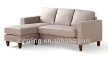 LK-M016 Elegant velvet fabric sofa