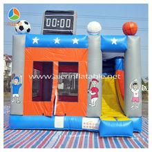 Bouncer inflatable castle soccer football theme