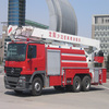 32m telescopic boom water tower fire truck(mercedes benz)