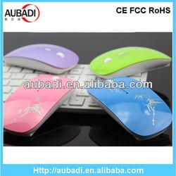 Cheap wireless slim mouse, flat mouse wireless