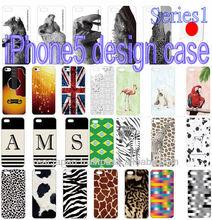 Case for iPhone5 national flag dot animal pattern design gift item