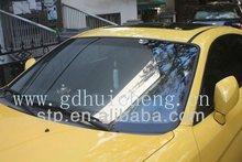 self-adhesive grey car window tint film/decorative solar film for car/buildings of anti-strach/light-reflective