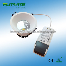 2013 high quality cob led ,cob led spotlight,downlight con 7W with dimmer driver