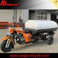 De água e transporte de petróleo motocicleta de três rodas/motocicleta de três rodas scooter
