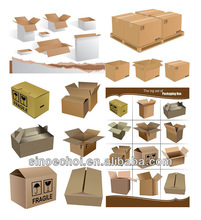 China basic cardboard packaging gift boxes on sale