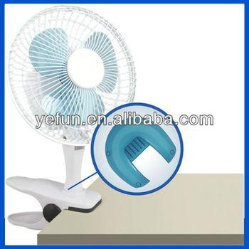 "FT-0602 2013 hot sell 6"" mini PP plastic clip fan 2 in 1 oem manufacturer"