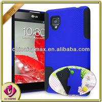 hybird dual layer phone case cover for LG optimus g E975