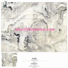 Porcelain floor tiles marble tiles 80x80 white tiles 3d printing