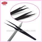 stainless steel curved tweezers