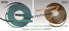 6520,6521,B Class fish paper /polyester film insulation laminate