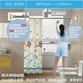 baoyouni canto chuveiro cutrtain haste da cortina de chuveiro do banheiro ferroviário trilho de cortina