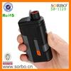 Plastic Lighter with Flashlight