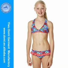 Yiwu Domi kids girls nudists picture bikini teen bikini/girls thong child/hot little models in bikini swimwear
