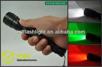 portable aluminium red led flashlights torch light best cheap flashlight