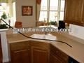 China mobília home fabricante hanex superfície sólida para pré-fabricados armáriosde cozinha/armário de cozinha kits( kct- 090)