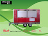 JC-F4400 food tricycle cart for sale