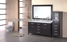 Double sink bathroom vanity 1163-C