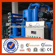 ZYD Transformer Oil Vacuum Evaporation Plant,Oil Purifier machie,Transformer Oil Treatment Plant