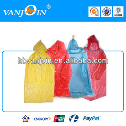 Hooded Recyclable Bicycle Rain Poncho