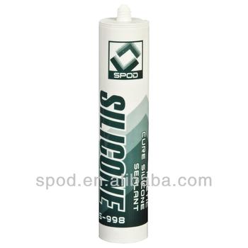 S998 Rapid Acidic Curing RTV Silicone Sealant aquarium silicone sealant