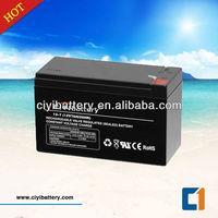 AGM Lead Acid Battery UPS Backup Battery 12V 7.2AH