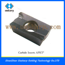 cemented carbide insert drill From China APKT