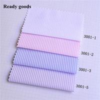 Ready goods, high density stripe cotton polyester poplin fabric