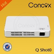 Concox Professional cinema projector With HDMI/USB/AV/VGA/TV Q shot0