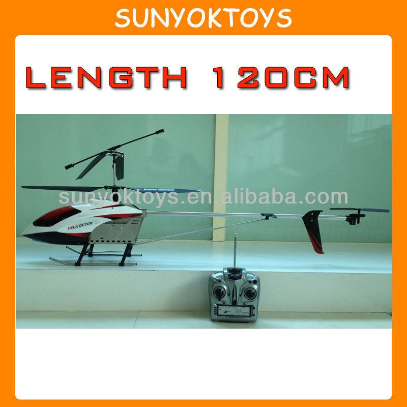 Longitud 120 cm, Grande helicóptero de Control remoto de venta, A gran escala Rc helicópteros de la venta