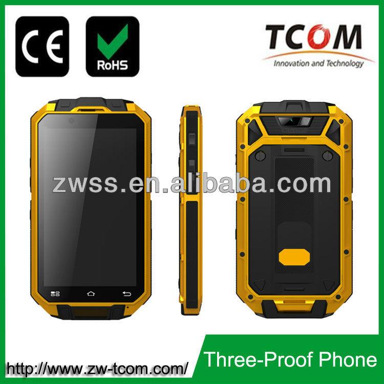 dust proof water proof shock resistant smart andriod mobile phone
