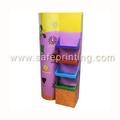 Durable design personnalisé carton cosmétique étagère