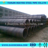 Spiral Steel Pipes used for pilling/oil/gas projects