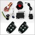 1 alarme de carro maneira proteção com dois controles remotos