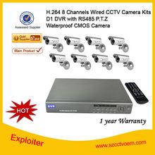 CCTV Camera System / Camera Kit / 8-CH Home Security Camera System