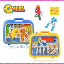 Q-KIDS plastic tool and brains toys