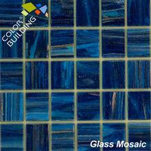 black glass decorative glass mosaic murals