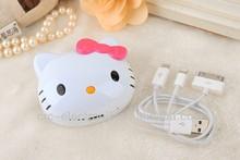 hello kitty power bank charger 6000mah Li-Polymer battery