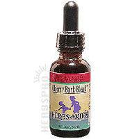 United States Seller:Cherry Bark Blend Alcohol-Free 2 Fl Oz by Herbs For Kids