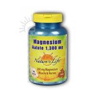Estados unidos vendedor: magnésio malato 1300 mg 100 guias pela vida da natureza