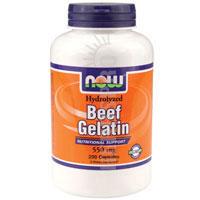 Los estados unidos el vendedor: de carne de gelatina hidrolizada 550 mg 200 tapas por ahora los alimentos