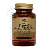 United States Seller:Ester-C Plus 500 mg Vitamin C Vegetable Capsules (Ester-C Ascorbate Complex) 500 mg 100 V Caps by Solgar