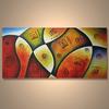 Popular handmade home decor waterproof wall painting decor