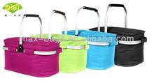 Fashion Lunch Bag Cooler Box Insulated Large Multiple Pockets Shoulder Strap