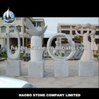 Haobo Wholesale Granite Stone Modern Art Garden Sculptures
